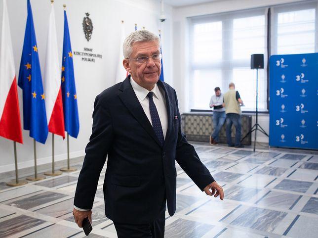 Stanisław Karczewski reaguje na oskarżenia posłów KO. Zapowiada pozew