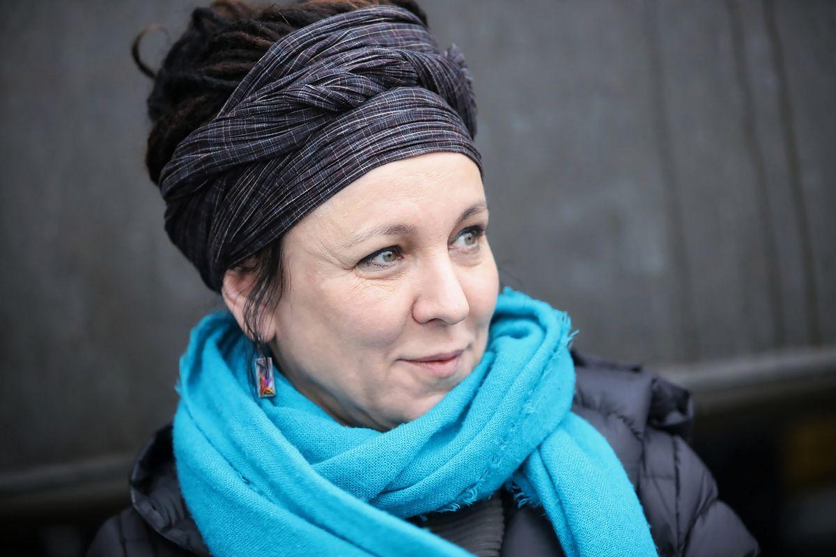 Olga Tokarczuk z Nagrodą Nobla. Pałac Prezydencki przygotował specjalną iluminację