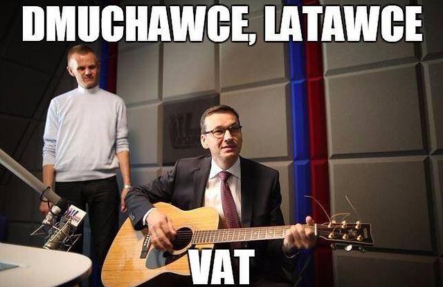 Minister Morawiecki skomentował falę memów. Co sądzi o twórczości internautów?