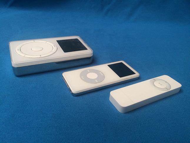 Choć to Shuffle jest najmniejszy, wizualnie króluje Nano.