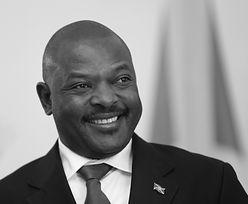 Zmarł prezydent Burundi. Pierre Nkurunziza miał 55 lat