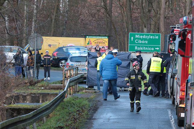 Samochód wpadł do rozlewiska. 5 osób nie żyje