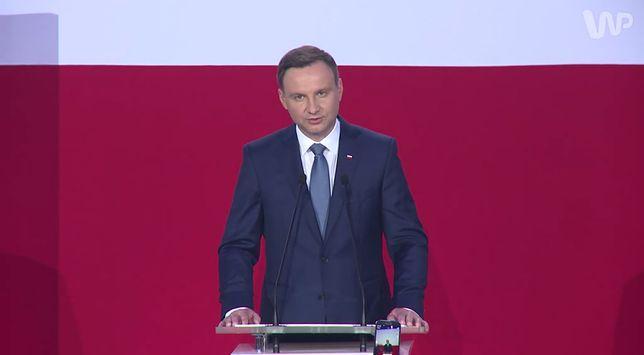Prezydent Andrzej Duda wygłosił orędzie w czasie Zgromadzenia Narodowego