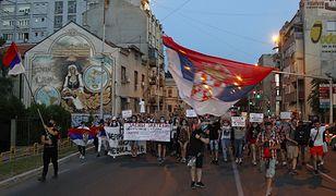 Demonstracja w Serbii. Photo by