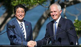 Shinzo Abe i Malcolm Turnbull