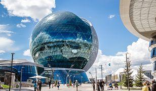 Astana wygląda jak rodem z kreskówki