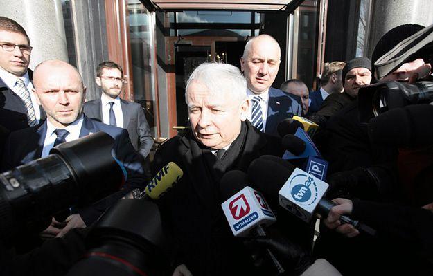 Jarosław Kaczyński po spotkaniu z premierem Davidem Cameronem: Polacy uzyskali bardzo dużo