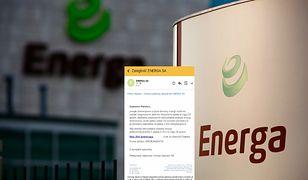 Energa wysłała taką wiadomość? To oszustwo