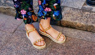 Podeszwa, kilka pasków i klamerka - tyle wystarczy, aby powstały wygodne buty na ciepłe dni
