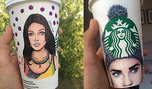 Moda na kubkach ze Starbucksa