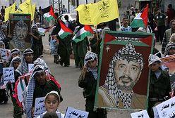 Strzały w czasie obchodów rocznicy śmierci Arafata
