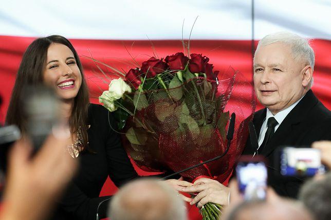 Wyniki wyborów 2019 Jarosław Kaczyński świętował ze współpracownikami