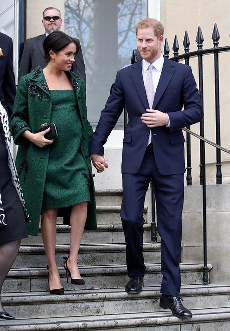 Meghan i Harry mają powody do radości - doczekają narodzin royal baby w nowym domu