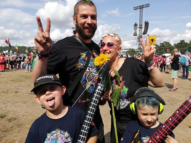 Cała rodzina bawi się na tegorocznym Pol'and'Rock