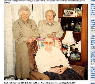 Łącznie mają 308 lat! Najstarsze siostry świata?