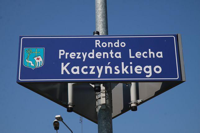 Lech Kaczyński jest patronem m.in. ronda w Pułtusku