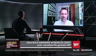 """Prof. Jarosław Flis: pomiędzy kandydatami zapowiada się """"wyrównana walka"""""""