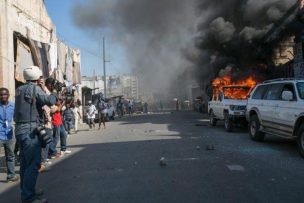 Haiti. Zamieszki przed drugą turą wyborów