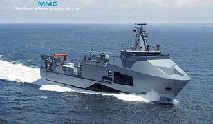 """Nowy okręt dla Marynarki Wojennej RP. Tak będzie wyglądać """"Ratownik"""""""