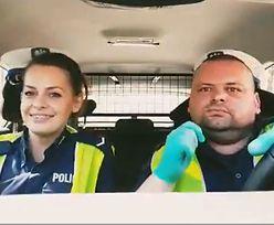 Nagranie policjantów hitem Internetu. Zaśpiewali piosenkę o koronawirusie, internauci zachwyceni