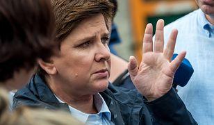 Beata Szydło odwiedziła Chojnice. Ale nie to, co mówiła premier, wzbudziło największe emocje
