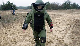 Szkolenie pirotechników 2. Mazowieckiego Pułku Saperów
