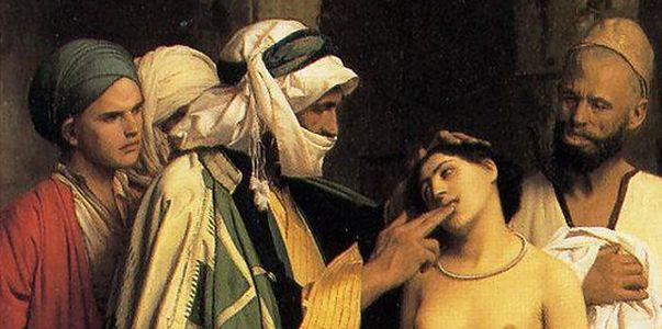 Blondynki znad Bałtyku były towarem luksusowym na targach niewolników na Bliskim Wschodzie