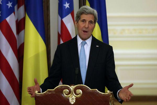 John Kerry zapewnił, że Stany Zjednoczone i Europa będą nadal wspierały Ukrainę