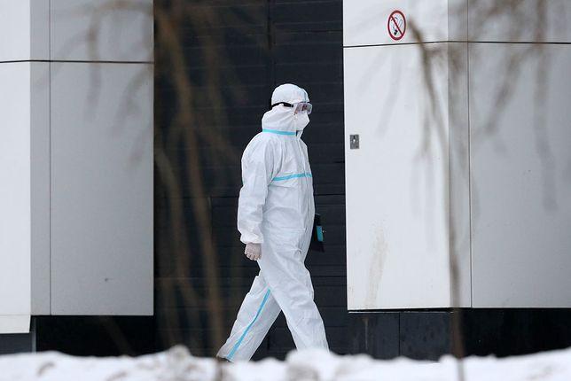 Koronawirus. W Rosji padł dobowy rekord zakażeń