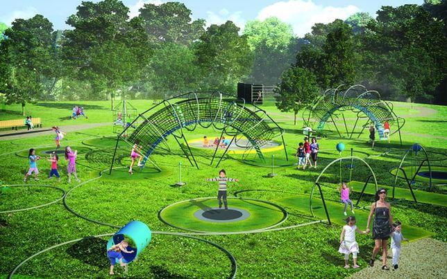 Na Bielanach powstanie pierwszy w stolicy park trampolinowy