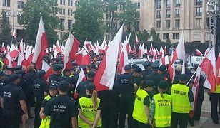 Protest Służby Celnej: Pikieta przed Ministerstwem Finansów