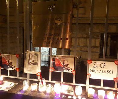Polacy w Budapeszcie upamiętnili Pawła Adamowicza