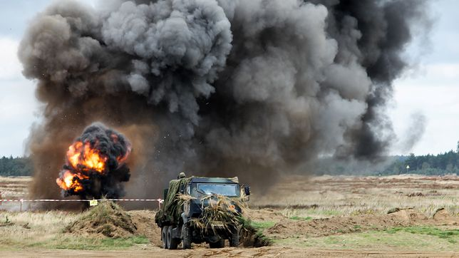 Rosjanie mają przyjechać na ćwiczenia Dragon-17. Czeka na nich żołnierski dowcip