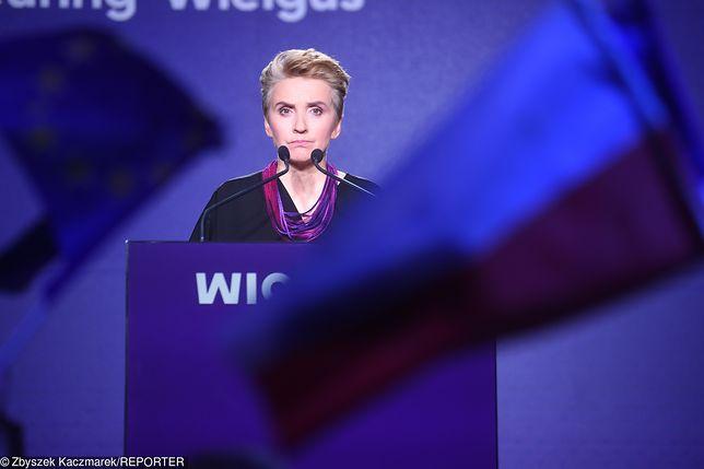 Wybory do europarlamentu. Joanna Scheuring-Wielgus startuje z list Wiosny.