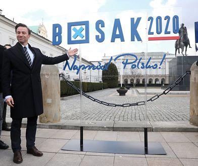 Wybory prezydenckie 2020. Krzysztof Bosak z hasłem wyborczym