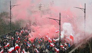 """Marsz Niepodległości pod hasłem """"My chcemy Boga"""". W sieci zawrzało"""