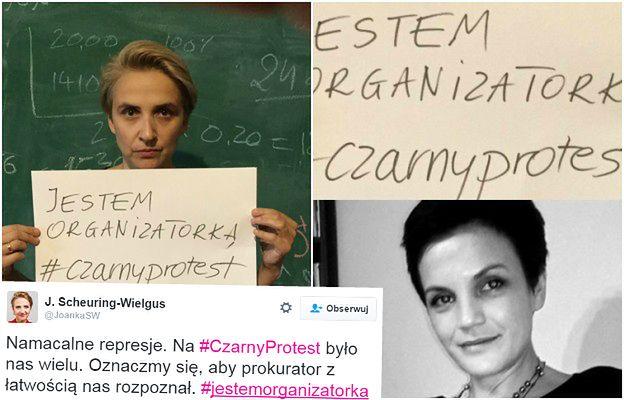 """Prokuratura szuka organizatorów """"czarnego protestu"""", więc kobiety donoszą... same na siebie"""