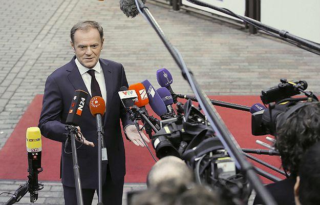 Unijny szczyt ws. uchodźców. Tusk: bez straży granicznej UE potrzebne inne, bolesne rozwiązanie