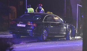 Rządowa limuzyna rozbita podczas wypadku z udziałem premier Szydło