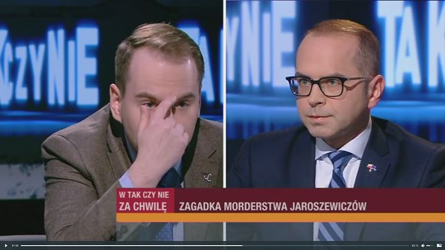 W programie na żywo starli się posłowie: Andruszkiewicz i Szczerba