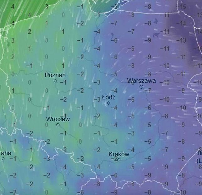 Tak będzie wyglądać pogoda w nocy z czwartku na piątek
