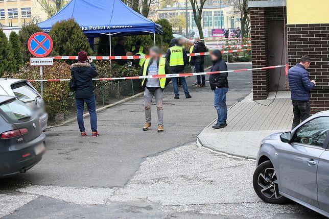 Konin. Miejsce śmiertelnego postrzelenia 21-latka przez policjanta