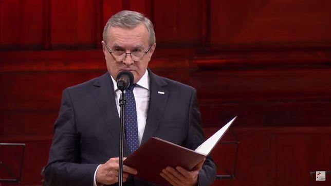 Wicepremier Gliński podczas I Konkursu Chopinowskiego na Instrumentach Historycznych