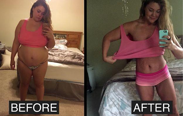 Niesamowita przemiana pewnej Amerykanki. W rok schudła 56 kilogramów