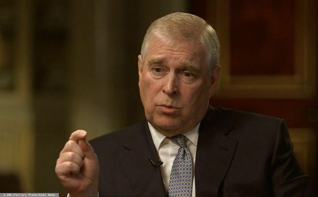 Wielka Brytania. Książę Andrzej podczas wywiadu dla BBC (zdj. arch.)
