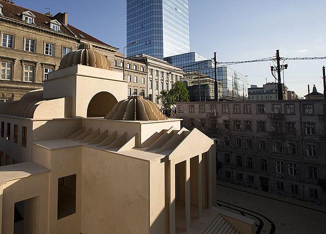 Wielka Synagoga stanęła w centrum Warszawy. Zdjęcia