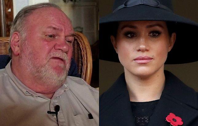 Thomas Markle niszczy córkę