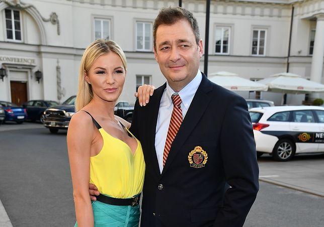Roksana Gąska i Jacek Rozenek na zdjęciu z czerwca 2018 r.