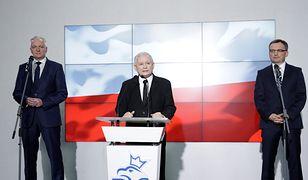 Kluczowe rozmowy Kaczyńskiego z Ziobrą i Gowinem. Kaleta skomentował doniesienia