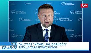 """""""Czajka"""" i falstart """"Nowej Solidarności"""". Marcin Kierwiński o tzw. liczniku ścieków"""